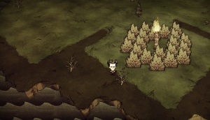 Don't Starve screen