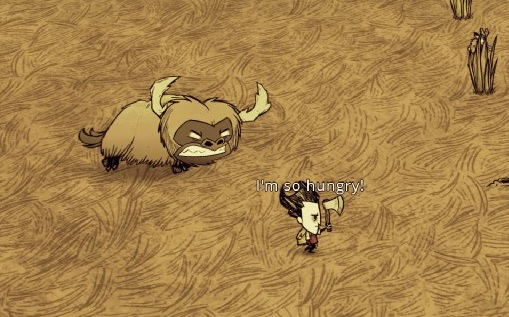 Angry beefalo are angry